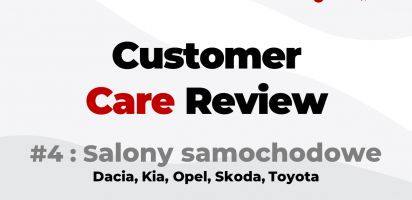 🔴 Customer Care Review /4 : Salony samochodowe